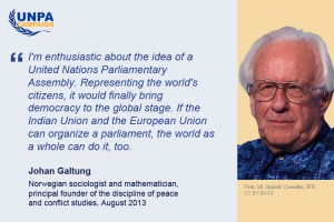 Statement from Johan Galtung
