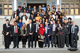 Participants of the Model Global Parliament in Canberra