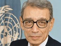 Sixth Secretary-General of the United Nations, Dr. Boutros Boutros-Ghali