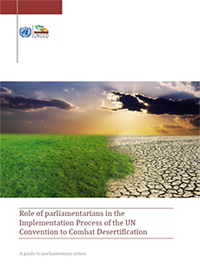 Recently published: The UNCCD's handbook on the role of parliamentarians