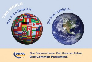 A world parliament would transcend national political boundaries