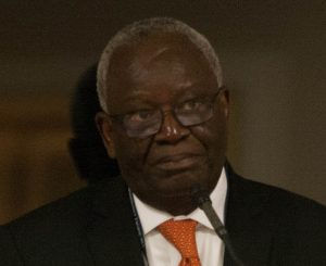 Ibrahim Gambari, co-chair of the Commission on Global Security, Justice, and Governance. Photo: Stanley Foundation