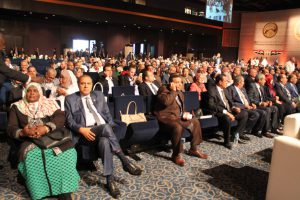 Members of the Pan-African and the Arab parliament in Sharm El Sheik